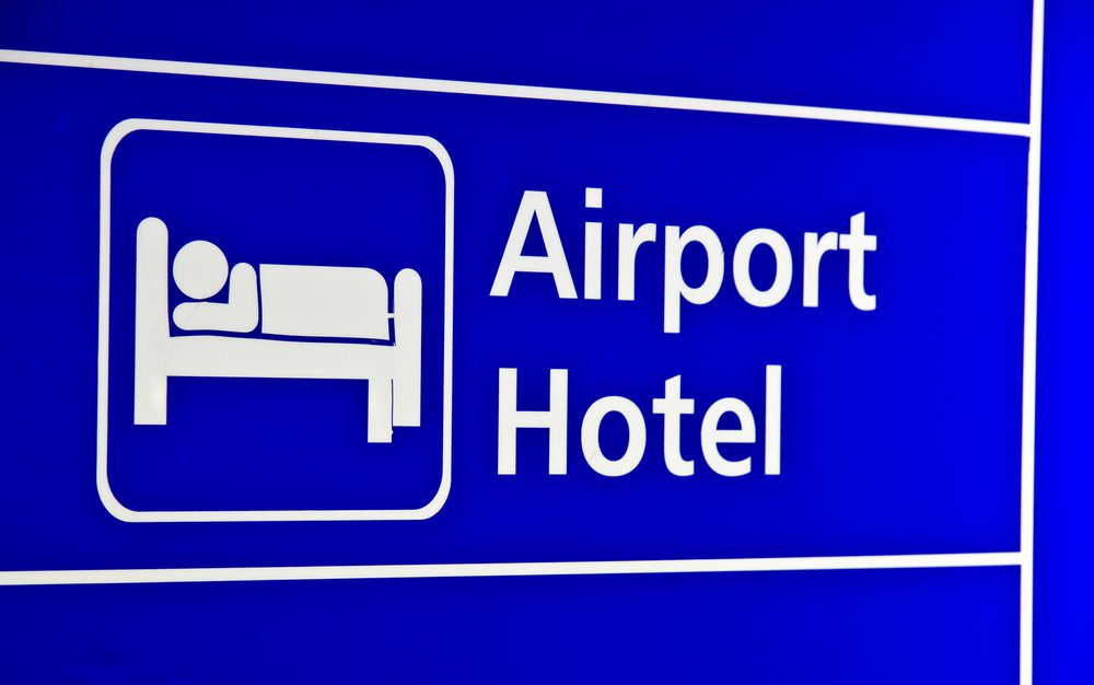 Airport Hotel Sign • Airport Hotels by Holiday Hamster