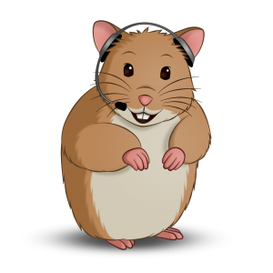 Holiday Hamster Call Us Logo