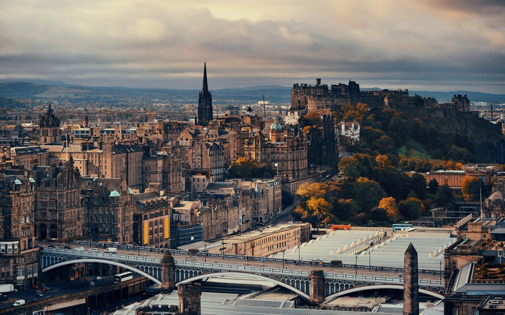 Edinburgh, Scotland by Holiday Hamster
