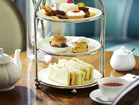Afternoon Tea for Two at the Hilton Gift Experience from Holiday Hamster
