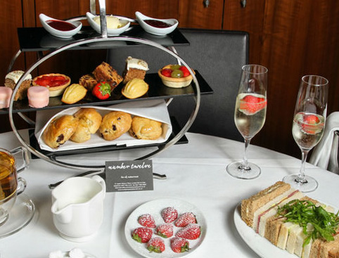 Afternoon Tea with Bubbly for Two Gift Experience from Holiday Hamster