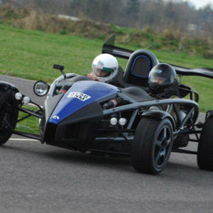 Aton Martin Drive & Ariel Atom Ride from Holiday Hamster