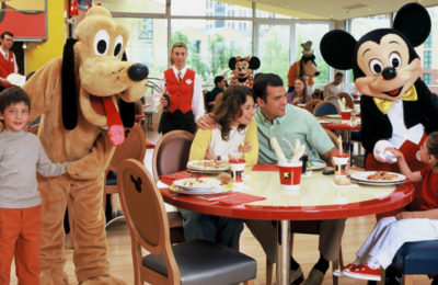 Breakfast with Disney Characters at Disneyland Paris
