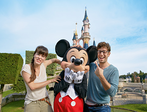 Buy Disneyland Paris Tickets from Holiday Hamster
