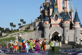 Chesh and Friends at the Disneyland Paris 25th Grand Celebration