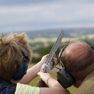 Clay Pigeon Shooting for Two with 100 Clays for Two Gift Experience from Holiday Hamster