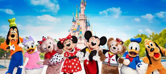 Disney FanDaze VIP Characters
