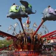 Disneyland Paris Dumbo the Flying Elephant with Holiday Hamster