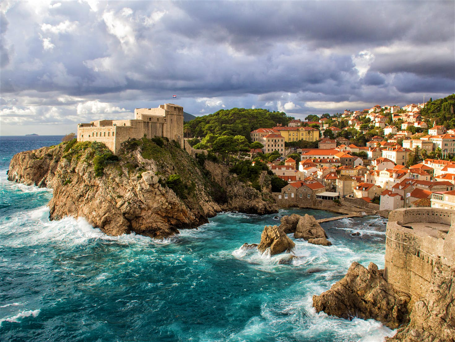 Dubrovnik's picturesque stone walls and streets make it a perfect stand-in for King's Landing