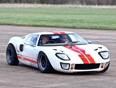 GT40 Drive Gift Experience from Holiday Hamster
