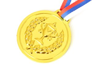 Gold Medal awarded to Holiday Hamster