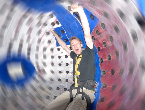 Harness Zorbing Gift Experience from Holiday Hamster