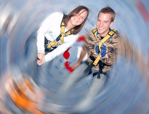 Harness Zorbing for Two Gift Experience from Holiday Hamster