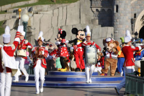 Mickey and Minnie at the Disneyland Paris 25th Grand Celebration