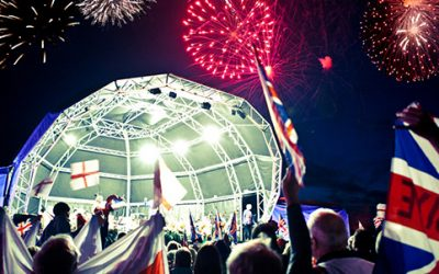 Outdoor Proms Concert for Two Gift Experience from Holiday Hamster
