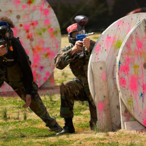 Paintball for Eight with Holiday Hamster