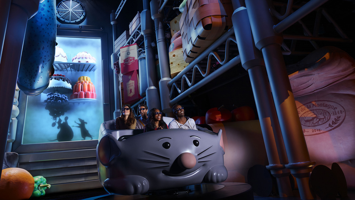Ratatouille Attraction at Disneyland Paris