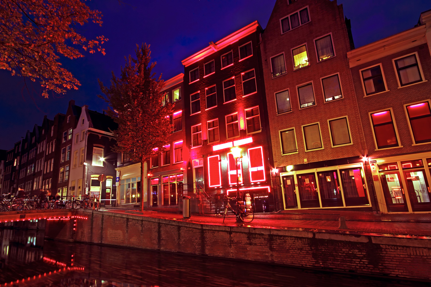 Red Light District in Amsterdam, The Netherlands