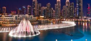 The Spectacular Dubai Fountains