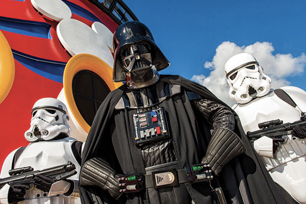 Star Wars Day at Sea on Disney Cruise Line with Holiday Hamster