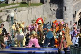 Stitch and Friends at the Disneyland Paris 25th Grand Celebration