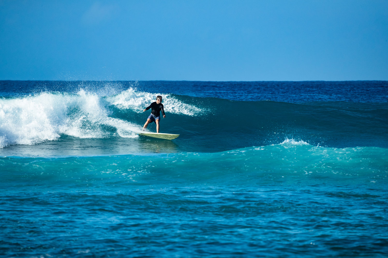 Surfing in the Cayman