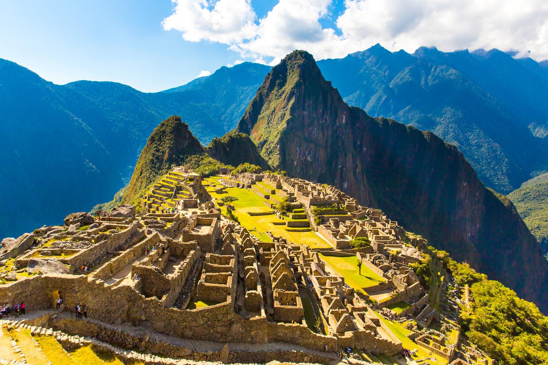 The Incan ruins of Machu Picchu, Peru