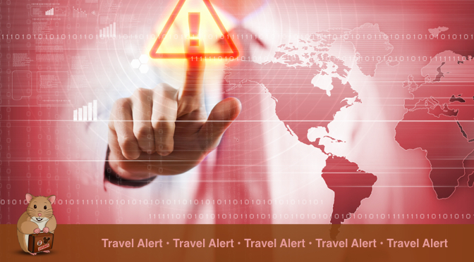Travel Alert by Holiday Hamster