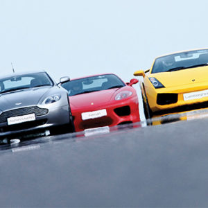 Triple Supercar Drive from Holiday Hamster