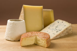 A Selection of French Cheese