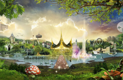 The fairytale based theme park of Efteling in The Netherlands