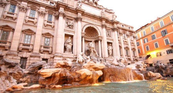 Visit the Trevi Fountain in Rome, Italy, with Holiday Hamster