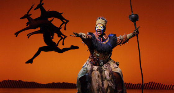 Watch The Lion King Musical in London with Holiday Hamster