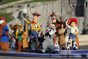 Woody and Friends at the Disneyland Paris 25th Grand Celebration